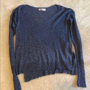 Hollister knit vneck sweater